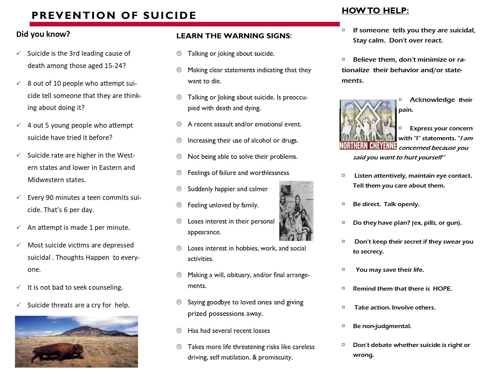 suicide brochure 2